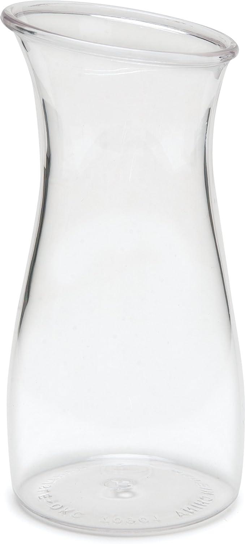 Carlisle 7090107 Cascata Carafe Juice Jar Beverage Decanter Only, Plastic.50 L, Clear