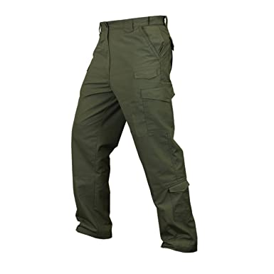 0c8457eb73 Amazon.com: CONDOR 608: SENTINEL TACTICAL PANTS: OD GREEN: Clothing