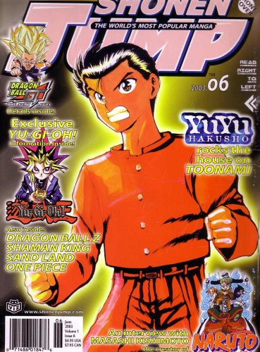 Shonen Jump, June 2003 (The World's Most Popular Manga, Vol. 1, Issue 6) ebook