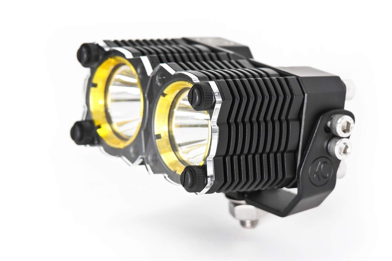 KC HiLiTES 72083 Flex Dual Clear Shield-Single