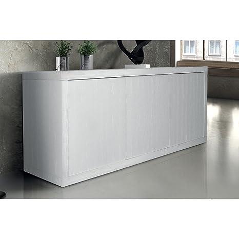 Mobile Base Cm 186 X 45 X 75 H Bianco Per Cucina Sala Da Pranzo ...