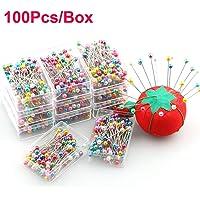 YH 100 Piezas/Caja Alfileres de confección Bodas Ramillete