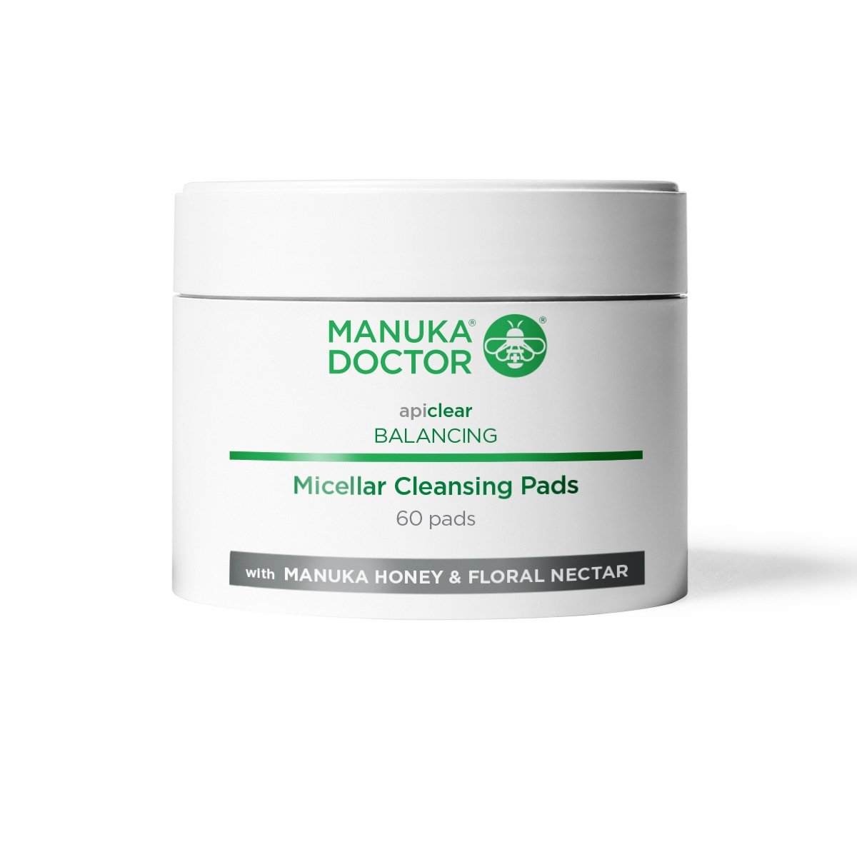 Manuka Doctor Apiclear Micellar Cleansing Pads - 60 Pads MD122