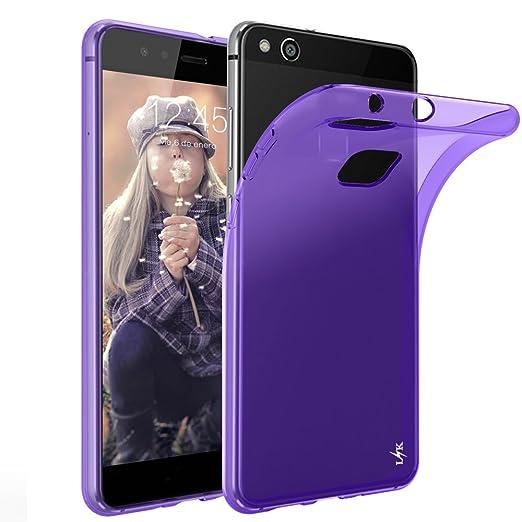 13 opinioni per Custodia Huawei P10 Lite, LK Case in Morbido Silicone di Gel Antigraffio in TPU