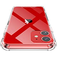 Shamo's Funda para iPhone 11, Transparente Carcasa Protección a Bordes y Cámara con Absorción de Choque Cojín de Esquina…