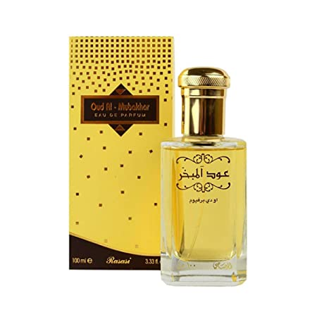 Rasasi Oud Al Mubakhar for Men EDP- 100 ML 3.4 oz