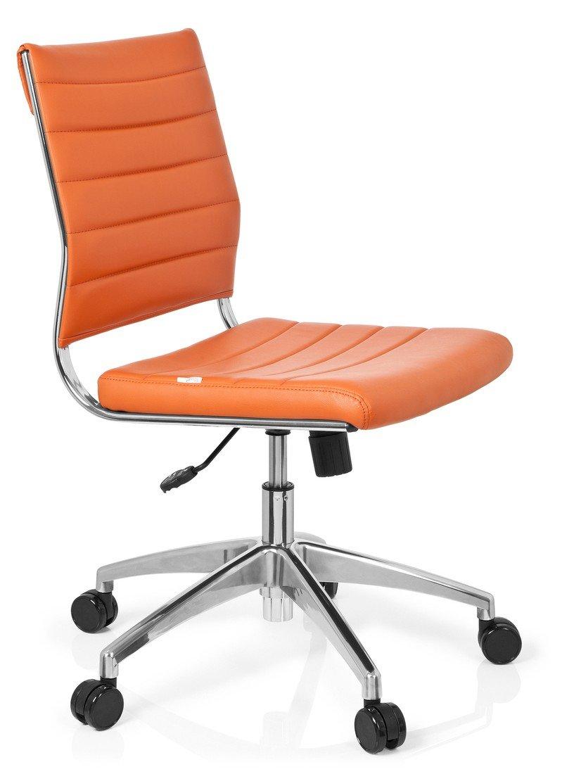 Hjh OFFICE 720003 Bürostuhl Drehstuhl Trisha Trisha Trisha Kunstleder, weiß 8a11e6