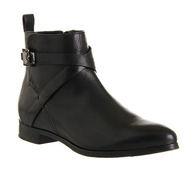 3331cb5455fc5 Ted Baker Kalay Strap Boot Black Leather - 8 UK  Amazon.co.uk  Shoes ...