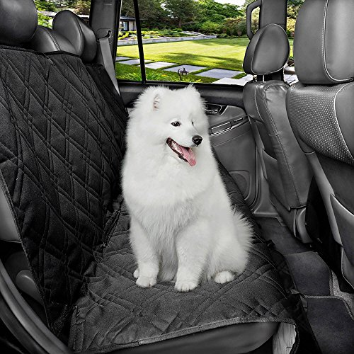Pet Seat Cover – Adjustable, Heavy Duty, Waterproof Hammock Car Seat Covers for Dogs - Breathable, Non-Slip Car Seat Protectors for Dogs