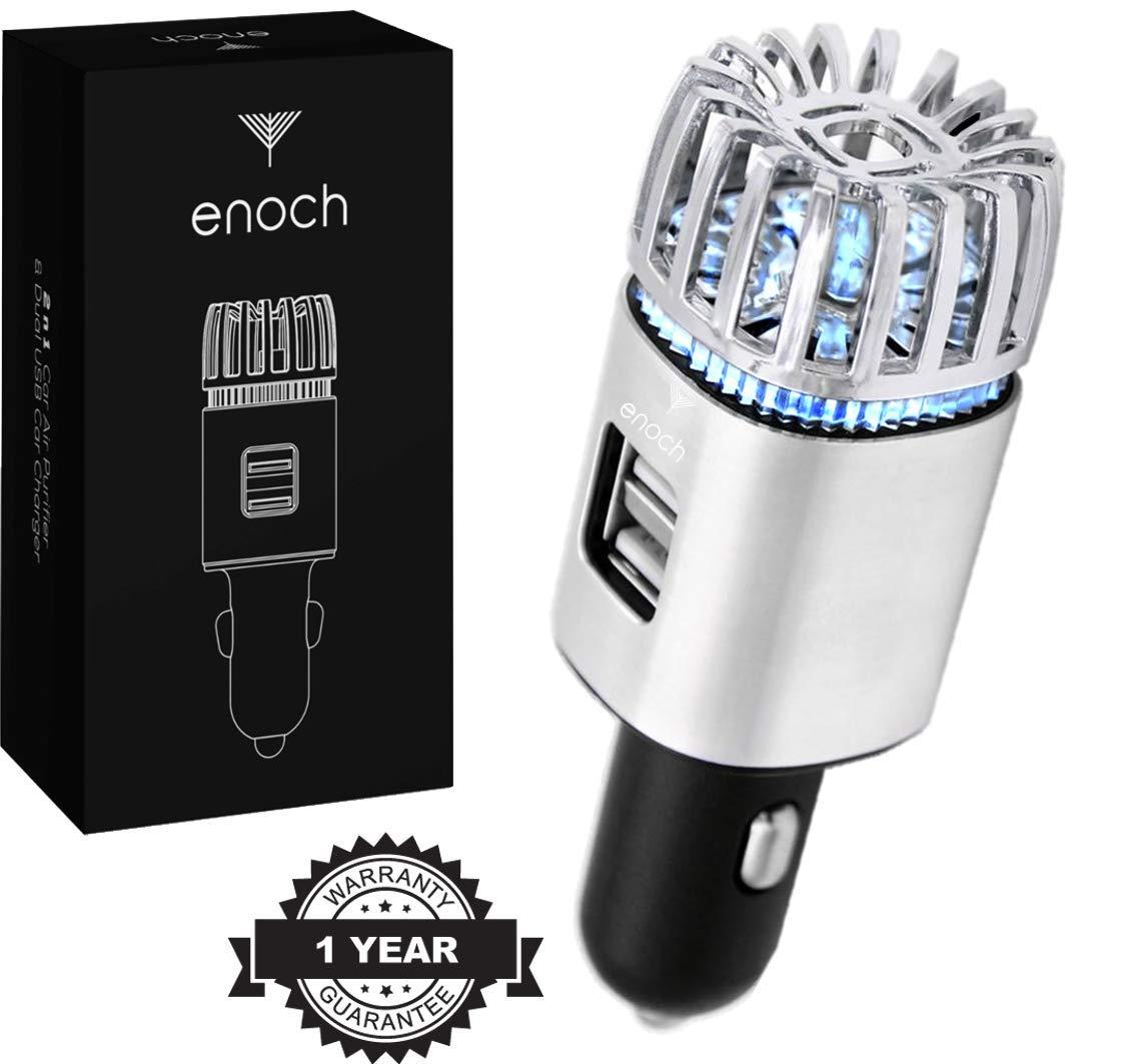 Amazon.com: Enoch - Purificador de aire para coche con ...