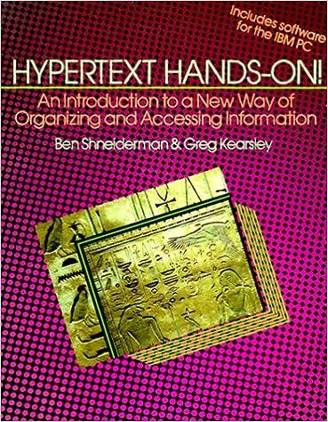 book: ypertext Hands-on