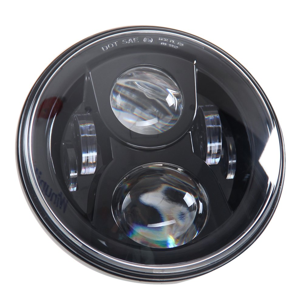 "SUNPIE 7"" LED Headlight For Harley Davidson Motorcycle"