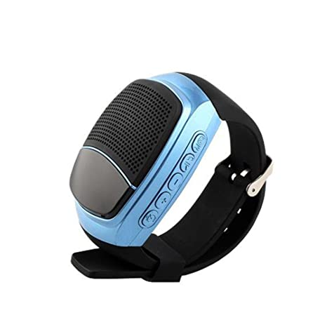 Altavoz de reloj Bluetooth ThreeCat, altavoz multifuncional para entrenamiento, reproductor de música de teléfono