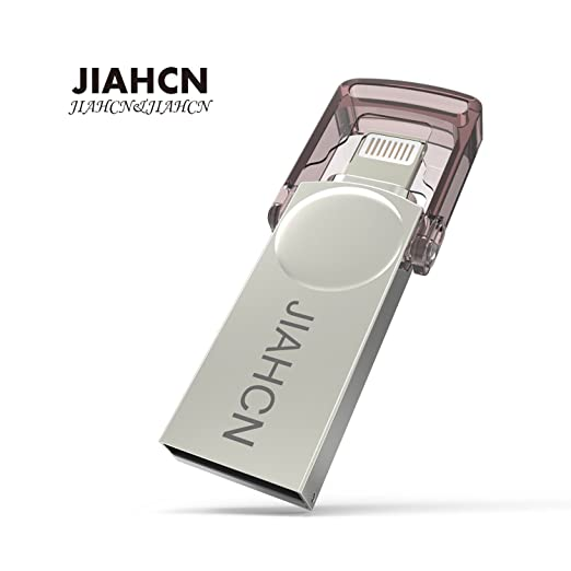 5 opinioni per JIAHCN Apple iPhone Memoria Chiavetta 32GB 2 in 1 USB Flash Drive Memoria
