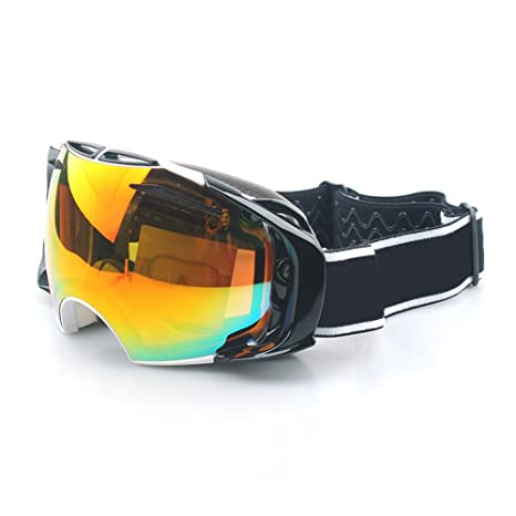 a26161a3cc3 Yomeni Ski Goggles - Interchangeable Lens for Men   Women Skiing  Snowboarding - 100% UV
