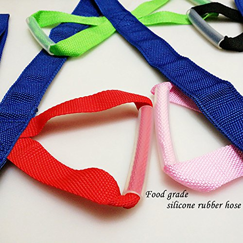 YCT Walking Rope -16 colorful handles (137inch) by YCT (Image #3)