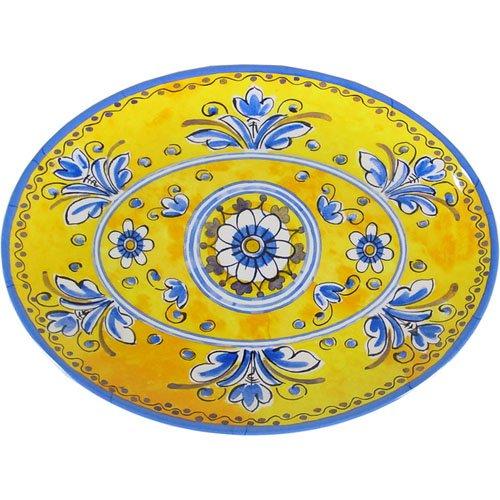 Amazon.com | Benidorm - Le Cadeaux Melamine Dinnerware Place Setting Salad Plates Bowls  sc 1 st  Amazon.com & Amazon.com | Benidorm - Le Cadeaux Melamine Dinnerware Place ...