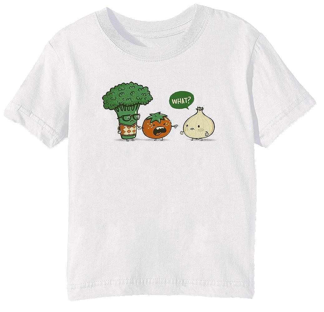 Erido Accidentale Prepotente Bambini Unisex Ragazzi Ragazze T-Shirt Maglietta Bianco Maniche Corte Tutti Dimensioni Sen's White T-Shirt