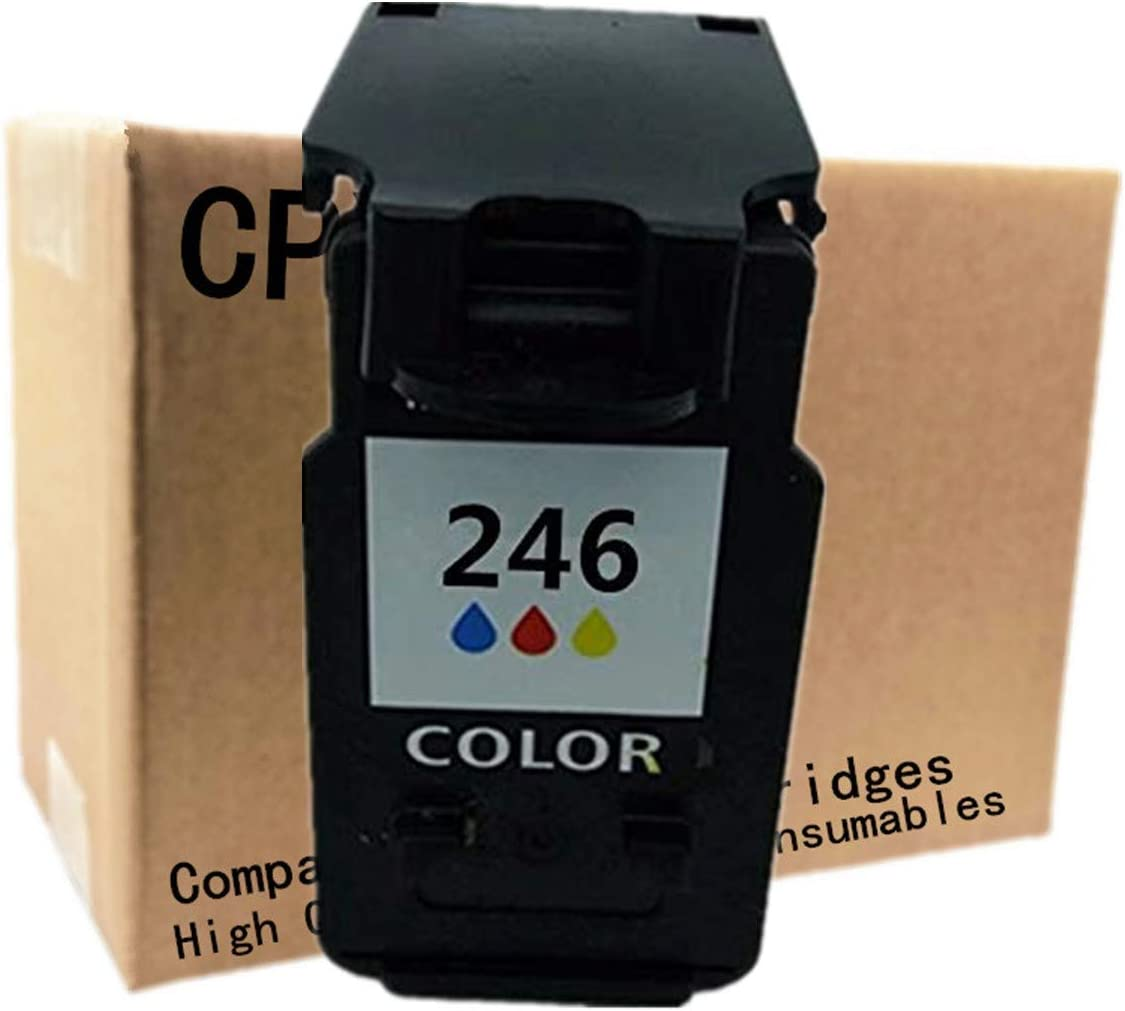 No-name Remanufactured Ink Cartridges Replacement for Canon PG-245 XL PG-245XL PG 245 PG245 CL-246XL CL246 Pixma iP2820 MX492 MG2924 MX492 MG2520 Inkjet Printer 2 Black