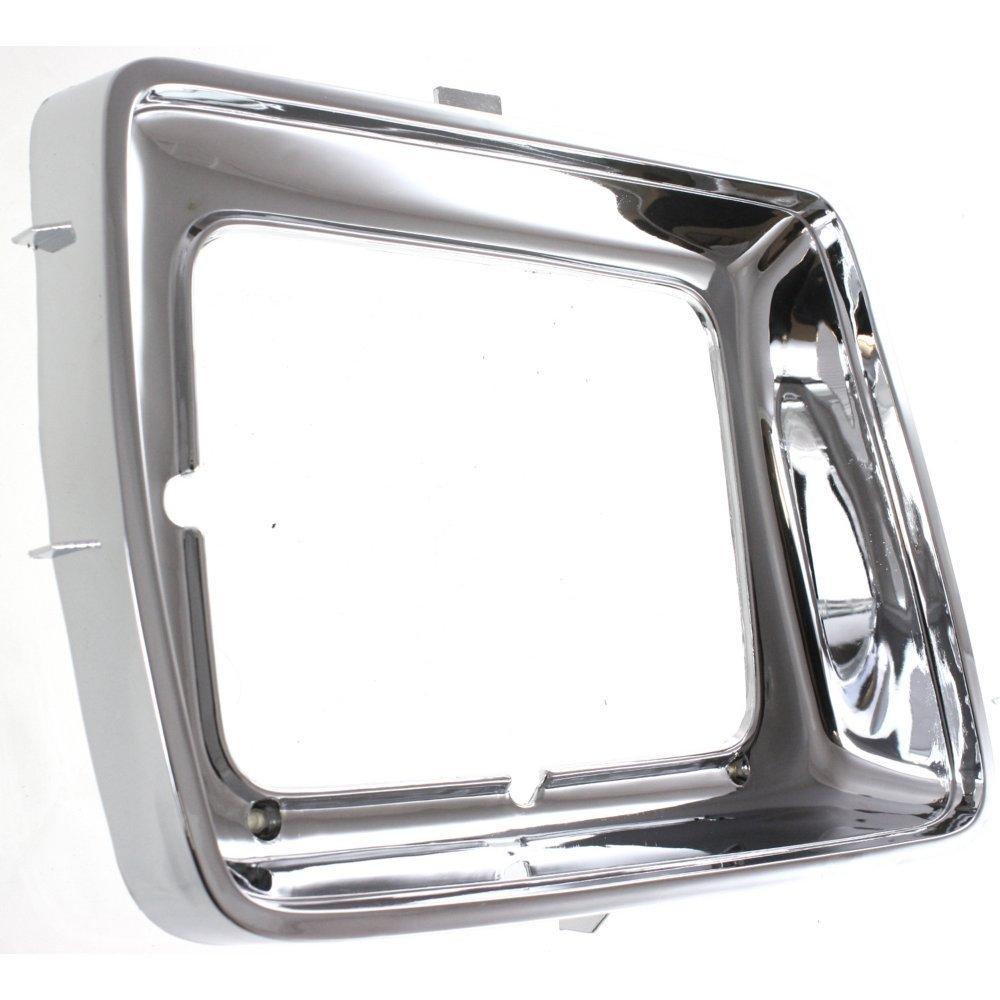 Headlight Door for Ford F-Series 78-79 LH Chrome w//Rectangular Headlamps Left Side