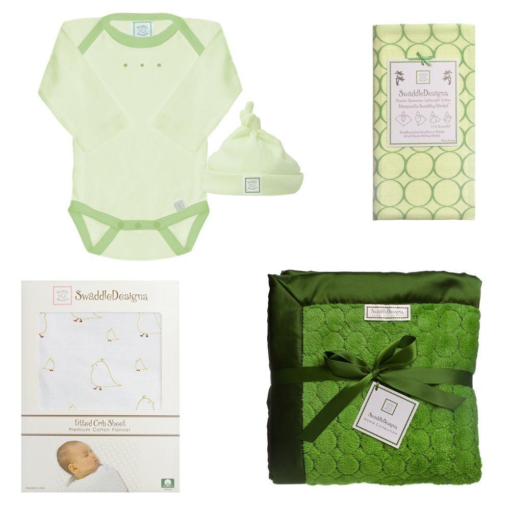 Amazon.com : 5 pieza recién nacido Ligera cuna Sábana con la manta ...