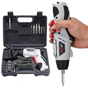 Destornillador eléctrico 4.8V Multi-función taladro de mano ...