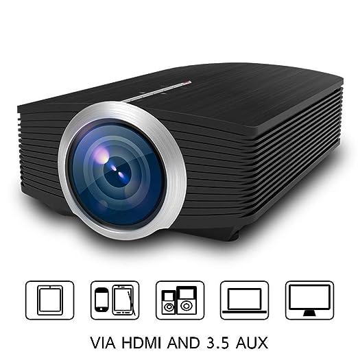 AWYYSYS Proyector portátil Mini proyector de Cine en casa ...