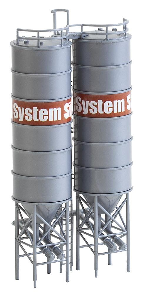 Faller 130476 Industrial Silos 2//HO Scale Building Kit
