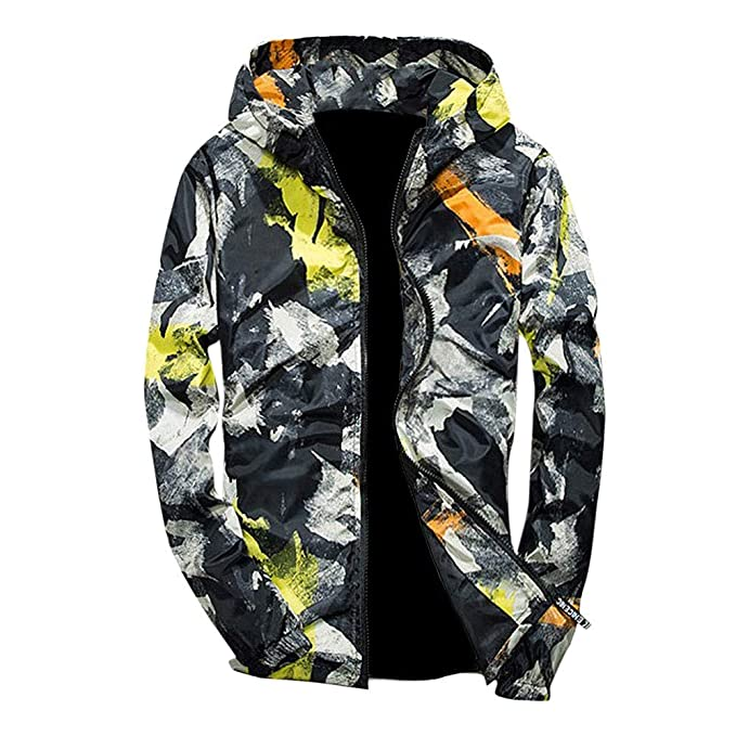 Amazon.com: 2019 Latest Hot Style! Teresamoon Mens Autumn Winter Camouflage Print Pullover Long Sleeve Hooded Tops Blouse: Kitchen & Dining