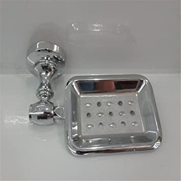 FQRYP-Caja de jabón Jabonera de acero inoxidable de alto ...