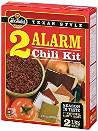 Wick Fowler\'s Products 2-Alarm Chili Kit, 3.625-Ounce Boxes (Pack of 12)