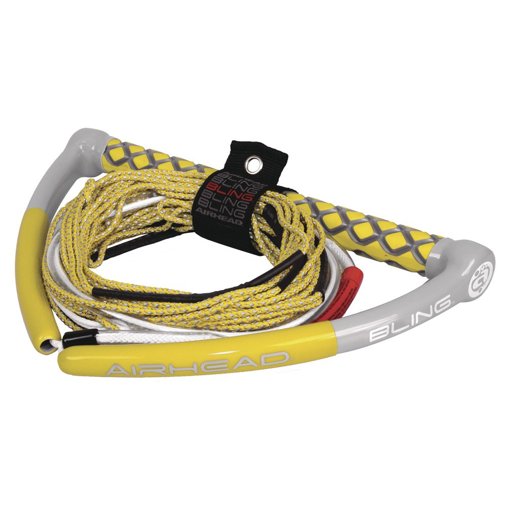 AIRHEAD Bling Yellow Spectra Wakeboard Rope - Rope 75' Bling 5-Section - Yellow by AIRHEAD Watersports B00KOF12GC, Jewelry&Watch LuxeK:0df26738 --- ijpba.info