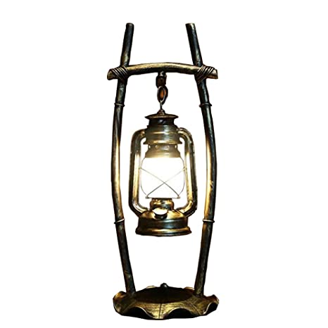Lámpara de mesa,lámparas antiguas viento Chino Antiguo Bar ...