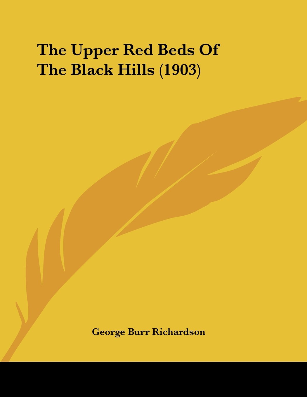 Read Online The Upper Red Beds Of The Black Hills (1903) pdf epub