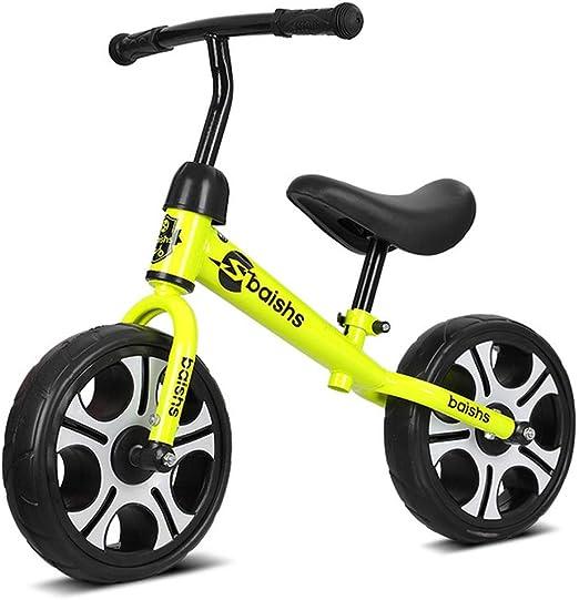 Bicicleta Sin Pedales Niña Niño Niños Niños Equilibrio De ...