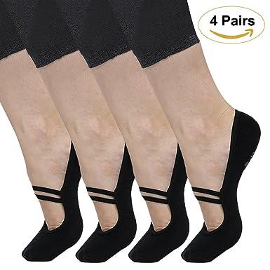 pilates, antidérapantes yoga chaussettes chaussures antidérapantes pilates, barre ballet 2dc410