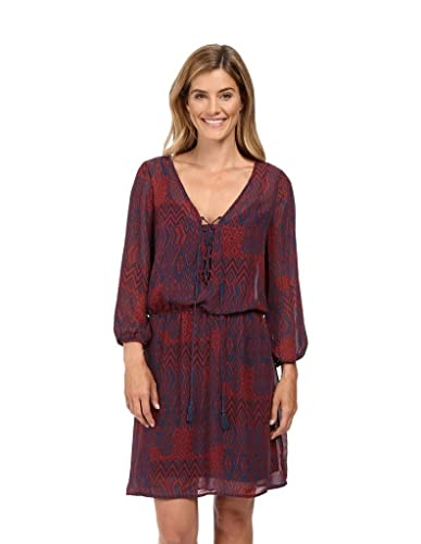 Stetson Women's Native Patchwork V-neck Dress