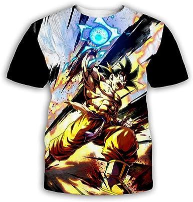 Camisetas Camiseta de Son Goku y Llavero Gratis de Dragon ...