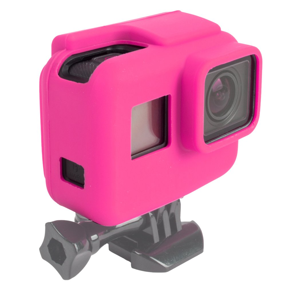 First2savvv Rubber Protective Silicone Soft Case Cover Protector Skin For GoPro Hero 5 Black Frame Housing - GO5-GJT-BB02