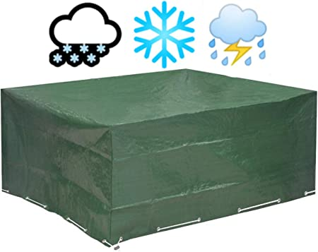 Glorytec Garden Furniture Covers 250x210x90 Extra Thick Material Waterproof And Weather Resistant Premium Garden Table Cover Outdoor Table Cover For Table And Chairs Amazon Co Uk Garden Outdoors