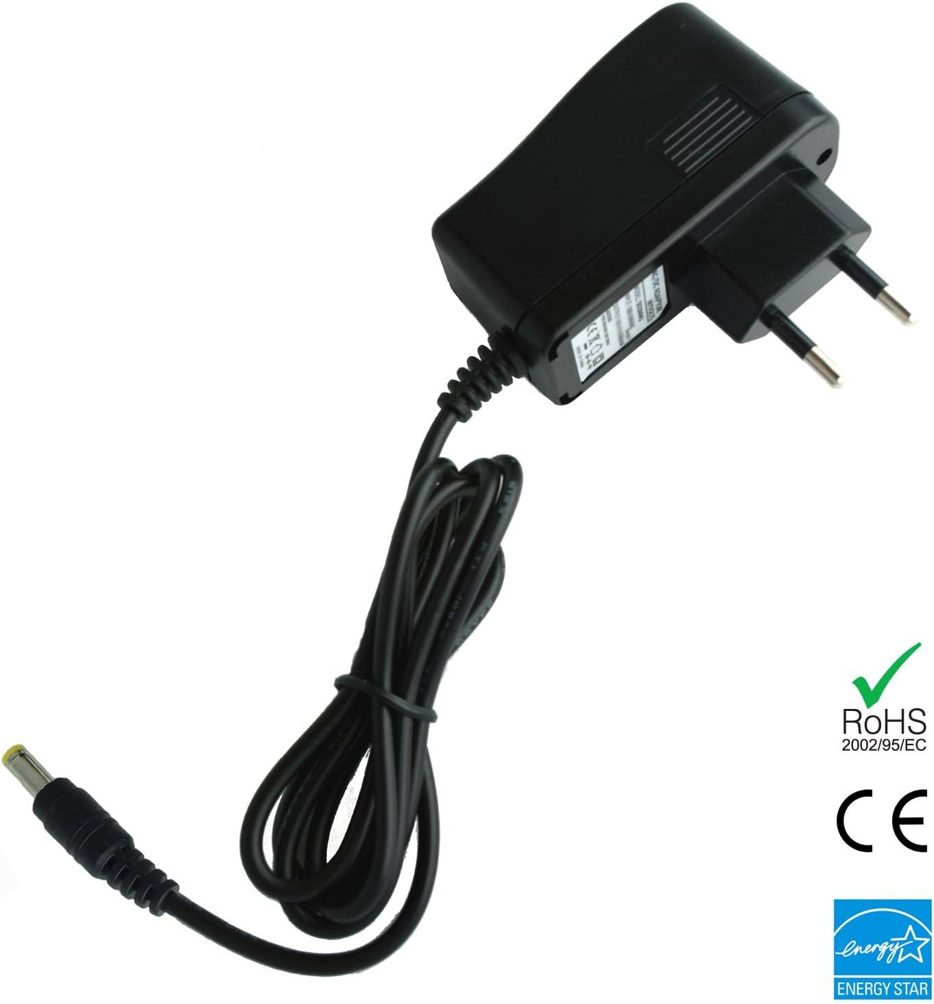MyVolts Chargeur//Alimentation 9V Compatible avec Alesis Q49 Contr/ôleur MIDI Adaptateur Secteur Prise fran/çaise