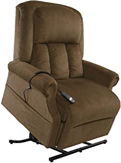 Mega Motion Easy Comfort Superior 3 Position Heavy Duty Big Lift Chair 500 lb capacity Chaise  sc 1 st  Amazon.com : lane fabric recliners - islam-shia.org