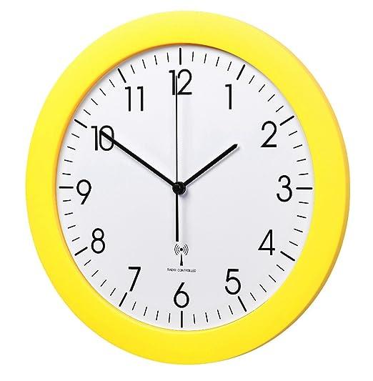 3 opinioni per TFA Dostmann Radio Controlled Orologio da parete TFA 60.3512.07 giallo con