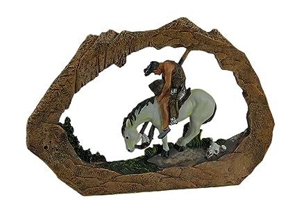 Amazon Zeckos End Of The Trail American Indian On Horseback