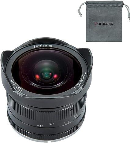 7artisans 7 5mm F2 8 Aps C Wide Angle Fisheye Manuelle Kamera