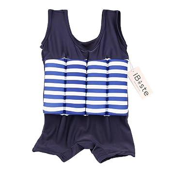 Traje de baño de la flotabilidad Bañador flotador Bikini para Niños Niñas #iBaste: Amazon.es: Bebé