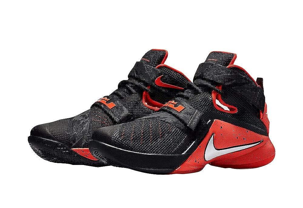 newest b30f4 72101 Nike Zoom Soldier IX, Black White Bright Crimson 016, 13 D(M) US