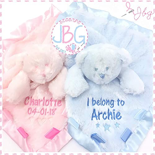 GIRL COLOUR CHOICE PERSONALISED EMBROIDERED PRAM//COT PRINCESS BABY BLANKET
