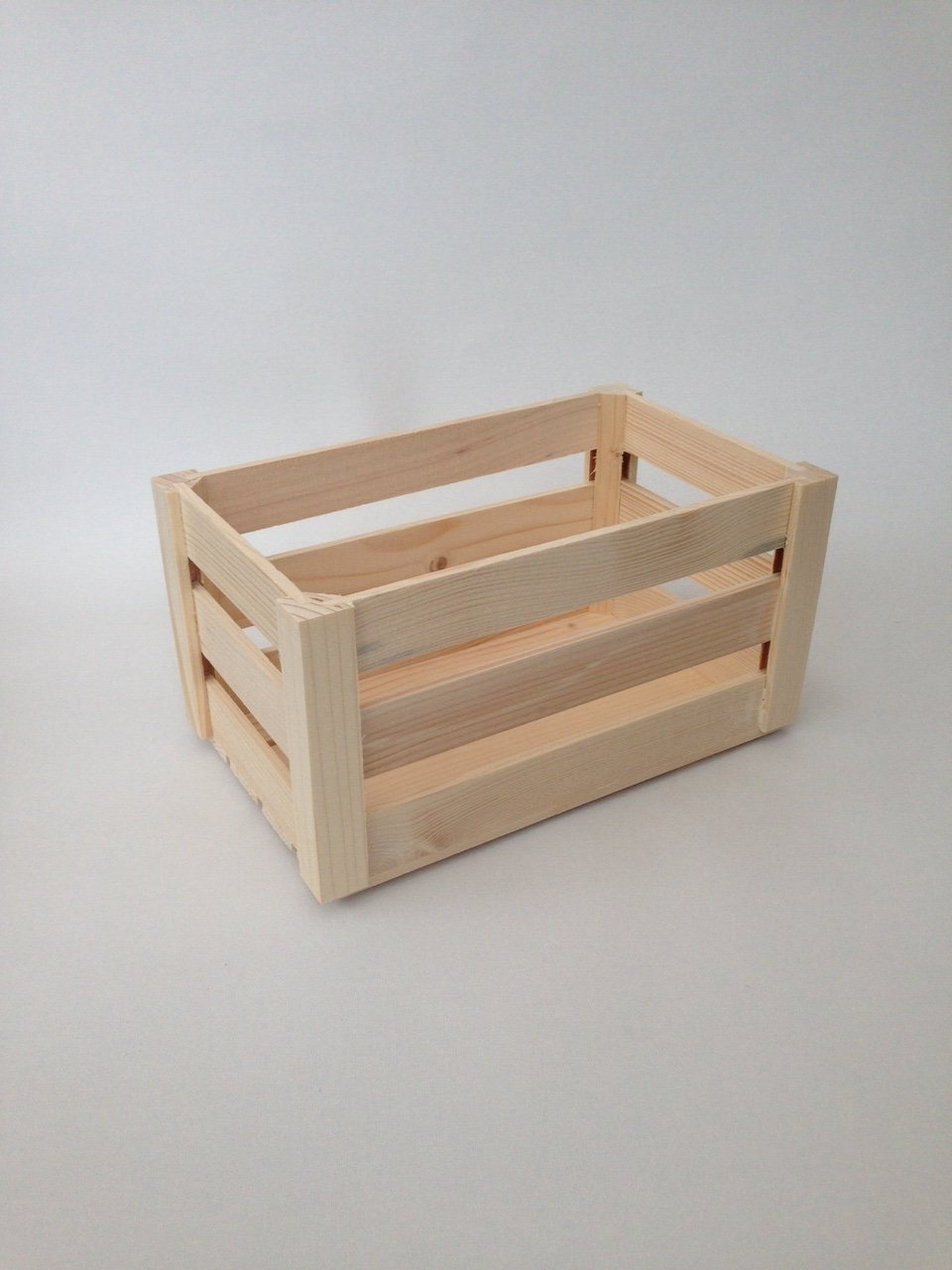 Awesome Plain Unpainted Wooden Set Crate Storage Box Small Craft Box (M   28 X 17 X  12 Cmm): Amazon.co.uk: Kitchen U0026 Home