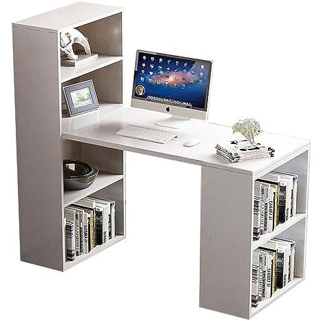Escritorio de ordenador para oficina en casa, estudio, mesa de ordenador portátil, estación